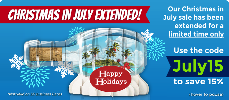 Christmas in July Promo